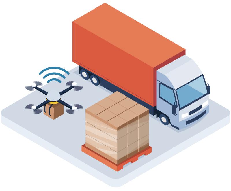 Use Case Transport im Industrie 4.0 Recht-Testbed